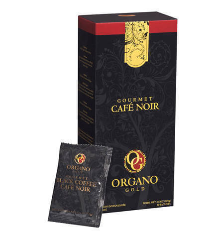 Cafe sức khỏe Black Coffee Organo Gold