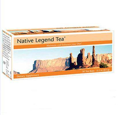 Native Legend Tea Unicity giúp thải độc gan